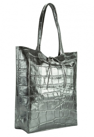 Damen-Shopper silber