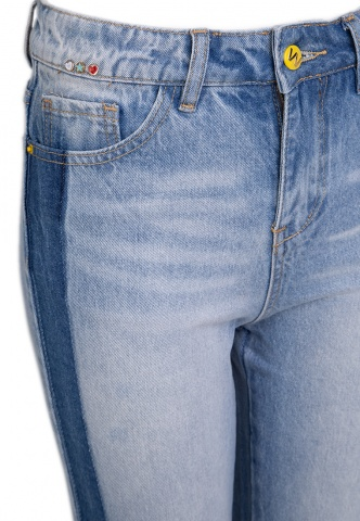 Damenjeans Lightblue-Denim, blau