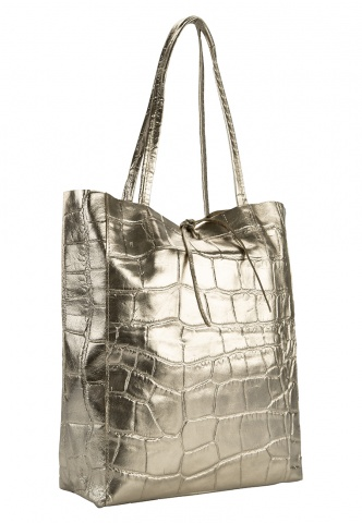 Damen-Shopper gold