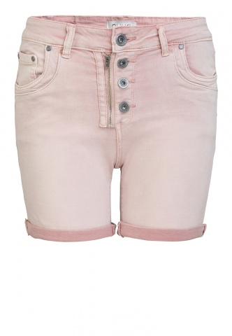 Damen-Short Colour Denim, rosa
