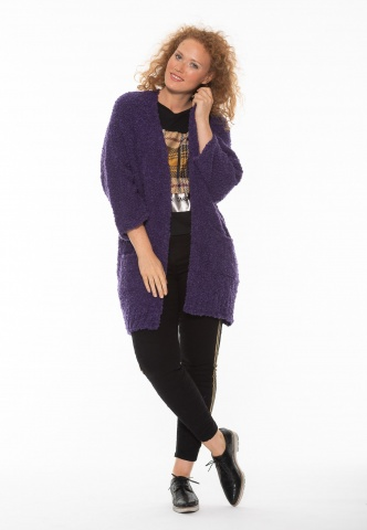 Strickjacke nuuc purple